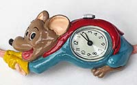 Watch shaped like a mouse