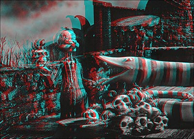 3-D Nightmare Before Christmas Anaglyphs