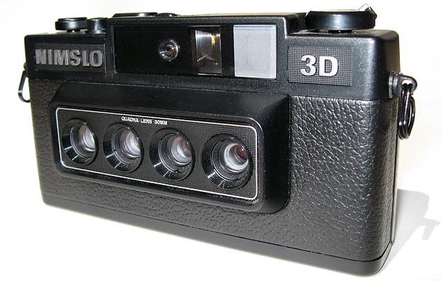 Nimslo stereo four lens camera