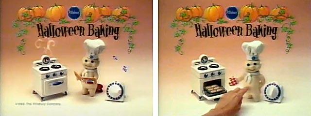 pillsbury doughboy halloween commercial scenes edge - Pillsbury Dough Boy Halloween Cookies
