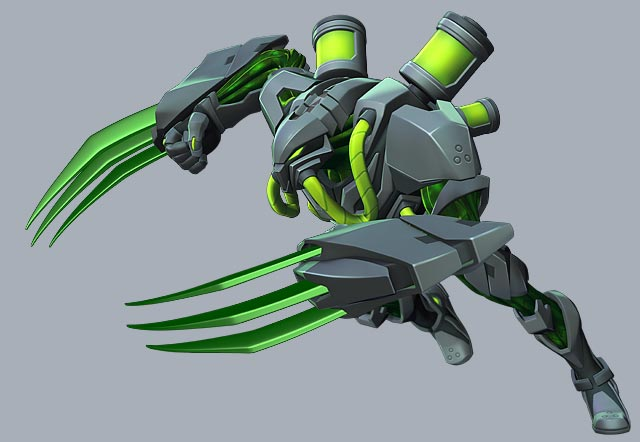 Toxzon from the Max Steel animated series. edge