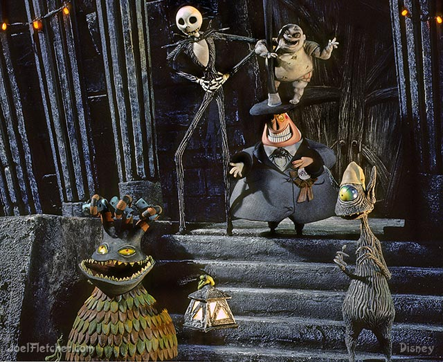 Characters from The NIghtmare Before Christmas