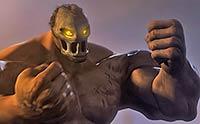 Masked monster