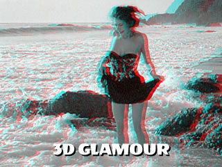 3d glamour anaglyph