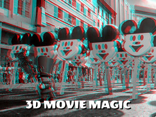3d anaglyph movie magic
