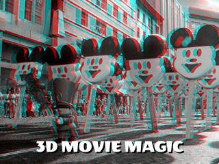 3d anaglyph movie magic