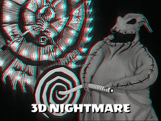 3d nightmare before christmas anaglyph