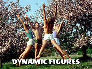 dynamic figures in nature