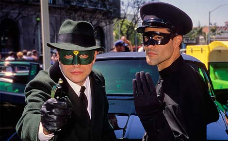 Crimestoppers the Green Hornet and Kato