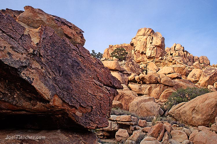 Rock slab and boulder piles. gallery