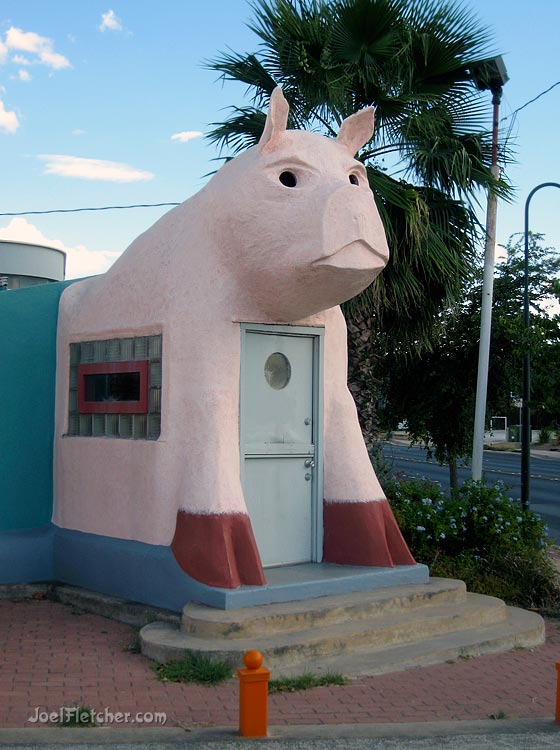 Giant pig building vernacular architecture. gallery