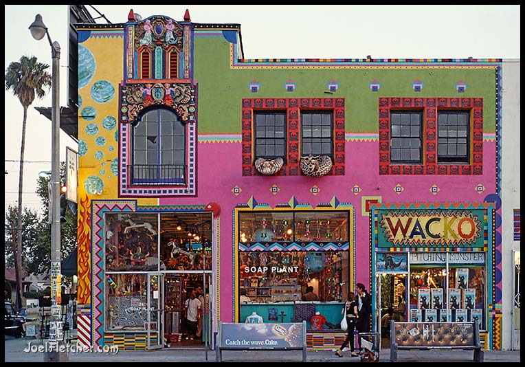 Soap Plant and Wacko stores on Melrose Ave. gallery